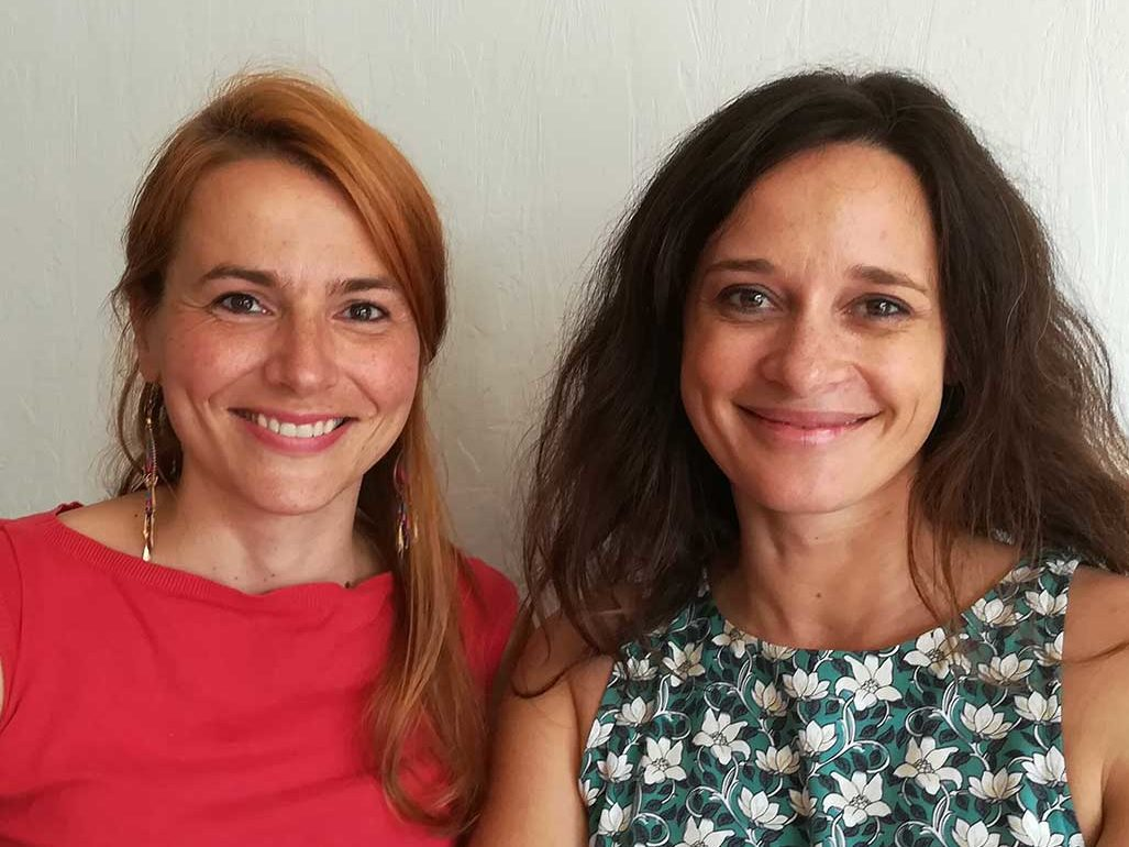 Catherine Barradeau et Christelle Plessis