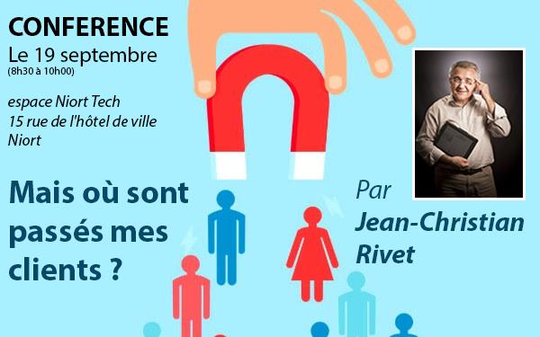 promo cafe techno clients - Mais où sont passés mes clients?! | Conférence gratuite à Niort le 19 septembre