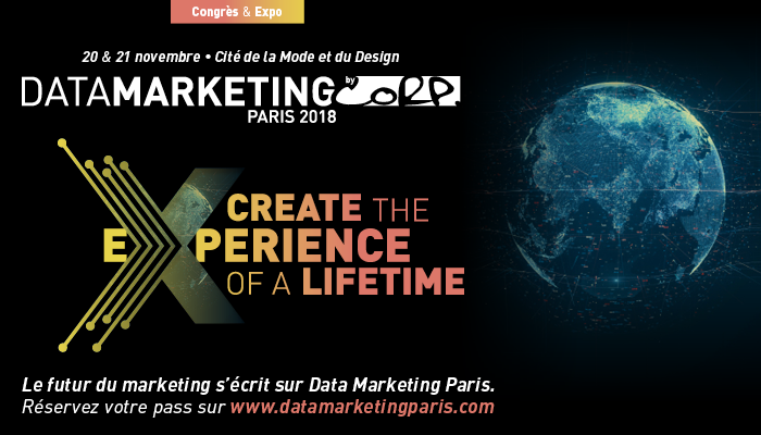 datamarketing2018 - Salon Data Marketing Paris : Faire dialoguer l'UX design et la Data