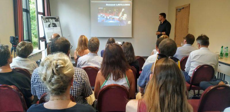 """IMG 20190830 174723 e1567430777767 - Plénière Plus-Agiles de la rentrée : Business-meeting et conférence """"Chercheur d'or, la performance sportive pour le manager"""" par Eric Alard"""