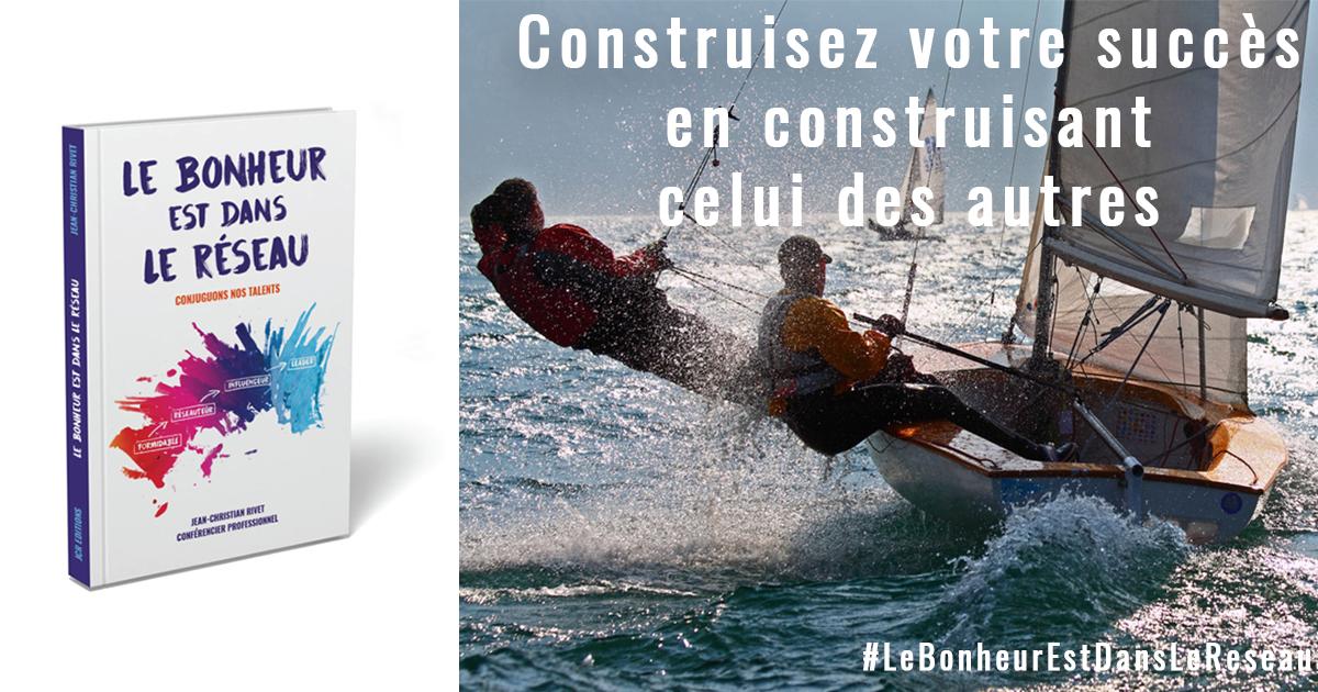 """Publications LBEDLR succes des autres - Livre de la rentrée : """"Le Bonheur est dans le Réseau"""""""