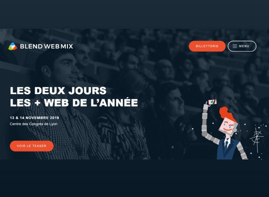 Conférence Blend Web Mix
