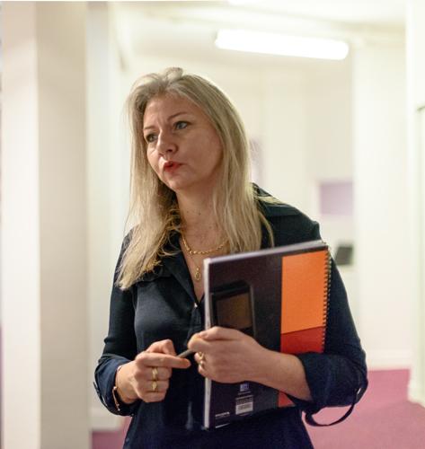 Nathalie Bouyat : lean et ergonomie
